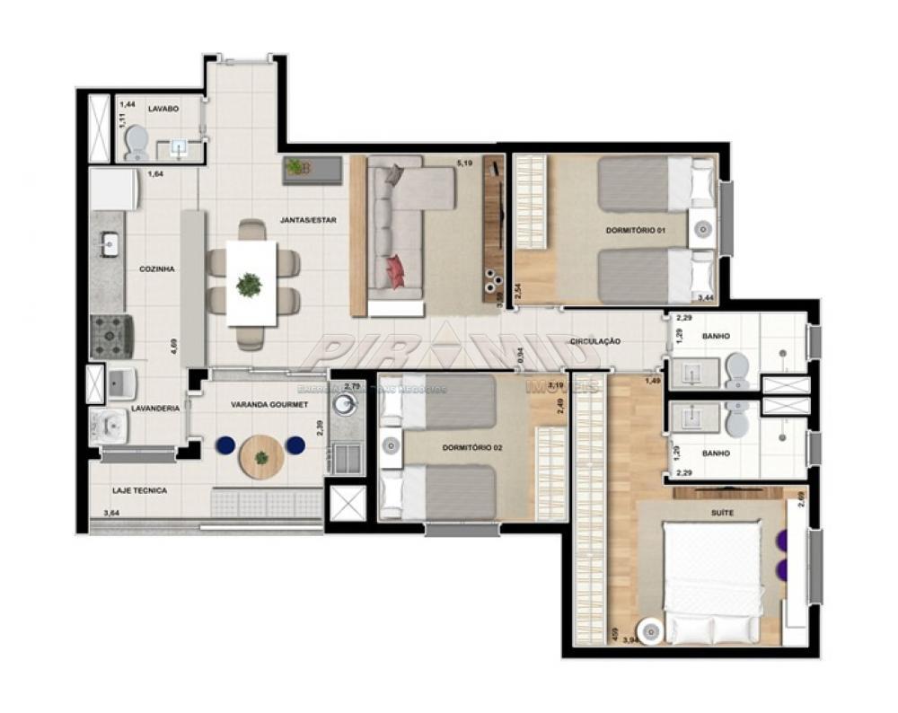 Alugar Apartamento / Padrão em Ribeirão Preto R$ 3.000,00 - Foto 31