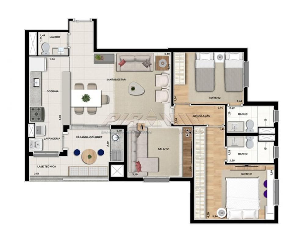 Alugar Apartamento / Padrão em Ribeirão Preto R$ 3.000,00 - Foto 32