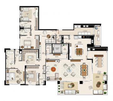 Comprar Apartamento / Lançamento em Ribeirão Preto R$ 2.633.340,00 - Foto 37