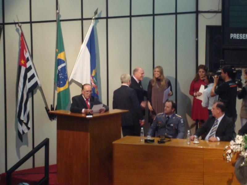 Galeria de fotos de Título de Honra ao Mérito  outorgado pela Câmara Municipal de Ribeirão Preto